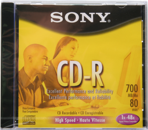 Sony 48x CD-R Logo Branded - 1 Disc