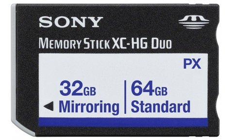 Sony 64GB Mirroring Memory Stick - MS-PX64