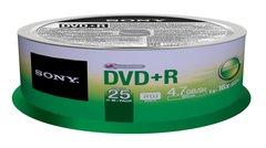 Sony DVD+R Logo Branded 25 Discs