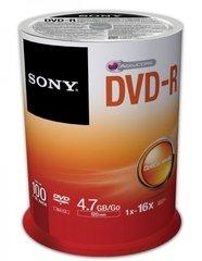 Sony 16x DVD-R Logo Branded - 100 Discs