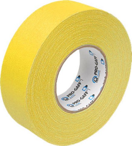 Pro-Tapes Pro-Gaffers 2 Inch Yellow