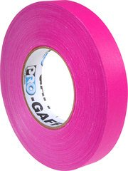 Pro-Tapes Pro-Gaffers 1 Inch Fluorescent Pink