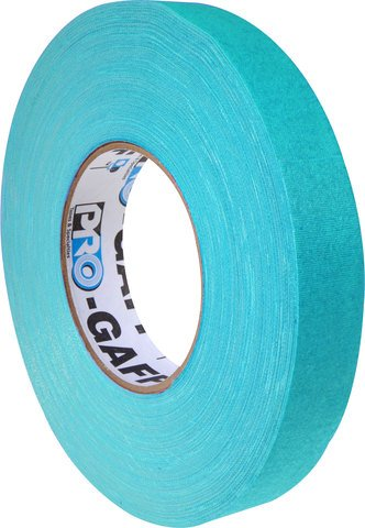 Pro-Tapes Pro-Gaffers 1 Inch Teal