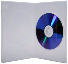 Evergreen Slim Clear Single DVD Case