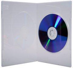Evergreen Slim Clear Single DVD Case