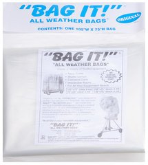 "Bag It! Clear Large All Weather Bag - 105"" W x 75"" H"