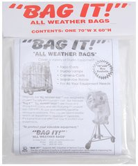 "Bag It! Clear Small All Weather Bag - 70"" W x 60"" H"