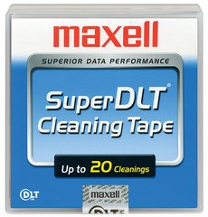 Maxell Super DLT Cleaning