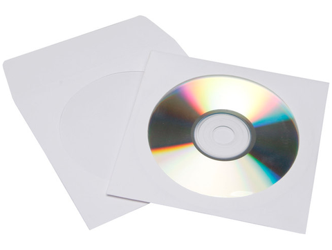 Evergreen CD/DVD Paper Sleeve with Window
