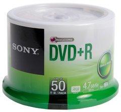 Sony DVD+R Logo Branded 50 Discs