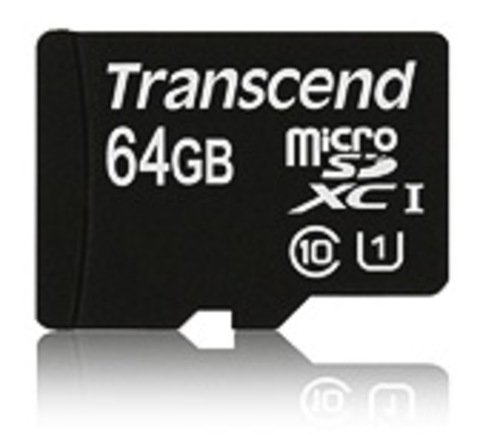 Transcend 64 GB MicroSD Class 10 / UHS-1