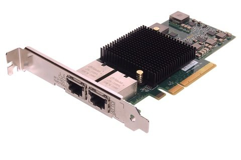 ATTO FastFrame Dual Port 10GBASE-T PCIe 2.0 Network Adapter