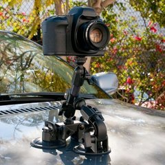Delkin Devices Fat Gecko Triple Suction Mount