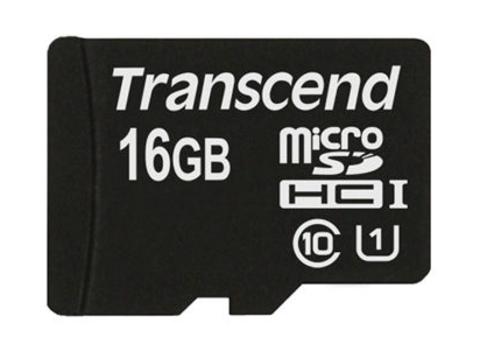 Transcend 16 GB MicroSD Class 10 / UHS-1