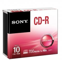 Sony CD-R Logo Branded - 10 Discs