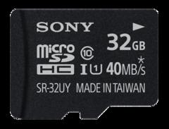 Sony 32 GB MicroSD Class 10 / UHS-1