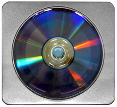 Generic CD/DVD/BD Tin Square with Window
