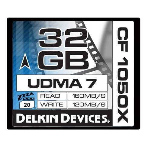 Delkin Devices 32GB CF 1050X UDMA 7 Cinema Memory Card
