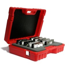 "Turtle 3.5"" Hard Drive 10 Capacity Case - Red"