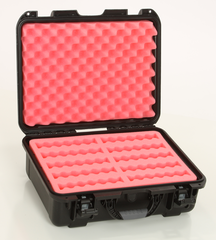"Turtle Waterproof 3.5"" Hard Drive Case - 10 Long Slots"