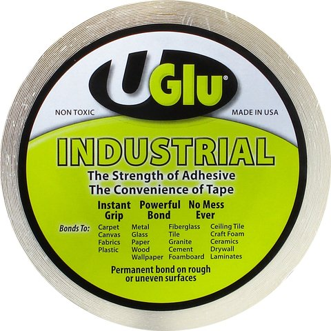 Uglu Instant Adhesive Industrial Roll - 3/4