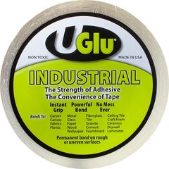 "Uglu Instant Adhesive Industrial Roll - 1"" x 65 Ft"
