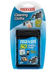 Maxell Dry Cleaning Cloths - 50 Pack