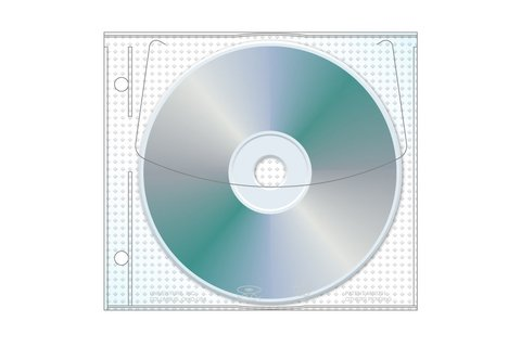 UniKeep Jewelpak CD/DVD Safety-sleeve