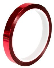 "Pro-Tapes Pro Sheen 1/2"" Red"