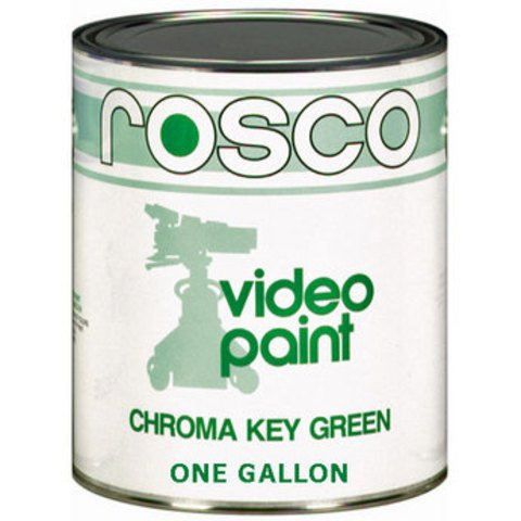 Rosco Chroma Key Green Paint #05711 - 1 Gallon
