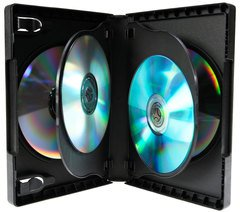 Evergreen 27mm 6 Disc DVD Case with Two Trays