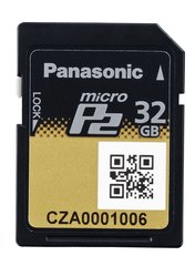 Panasonic 32GB microP2 Card - AJ-P2M032AG