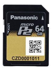 Panasonic 64GB microP2 Card - AJ-P2M064AG