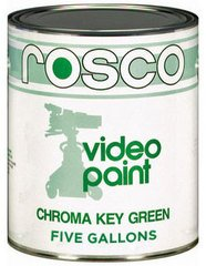 Rosco Chroma Key Green Paint #05711 - 5 Gallon