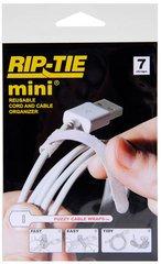 mini - White 3.5 Inches - 7 Ties