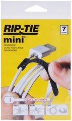 Rip-Tie mini - Black 3.5 Inches - 7 Ties