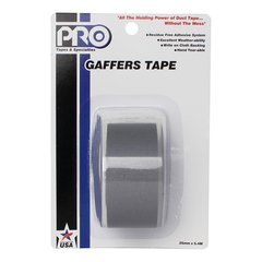 Pro-Tapes Pro-Gaffer Retail Pack 1 Inch Grey
