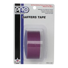 Pro-Tapes Pro-Gaffer Retail Pack 1 Inch Purple