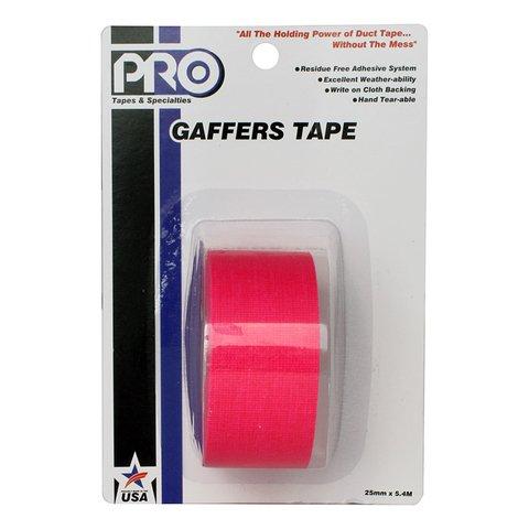 Pro-Gaffer Retail Pack 1 Inch Fluorescent Pink