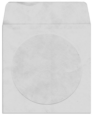 Bethel Plastics CD/DVD Tyvek Sleeve with Flap