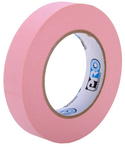 Pro-Tapes Pro 46 Paper Tape 1 Inch Pink