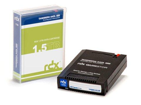 Tandberg Data 1.5TB RDX QuikStor Removable Cartridge