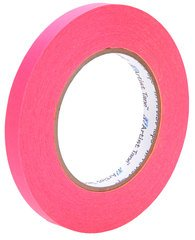 Pro-Tapes Artist Tape 1/2 Inch Fluorescent Pink