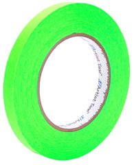 Pro-Tapes Artist Tape 1/2 Inch Fluorescent Green