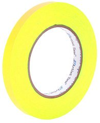 Pro-Tapes Artist Tape 1/2 Inch Fluorescent Yellow