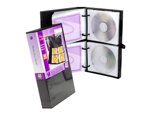 UniKeep 40 Disc CD/DVD Wallet