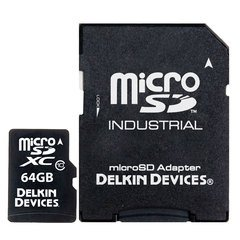 Delkin Devices 64 GB MicroSD Class 10 / UHS-1