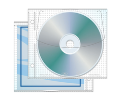 UniKeep Jewelpak CD/DVD Binder Sleeve