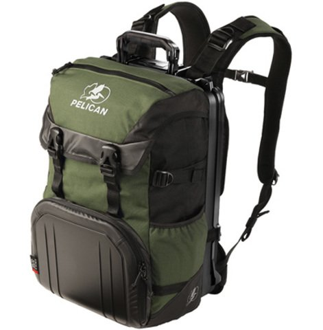 Pelican S100 Sport Elite Laptop Backpack - Green on Black