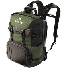 S100 Sport Elite Laptop Backpack - Green on Black